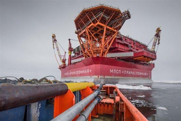Rusya'nın kutuplardaki petrol platformu!