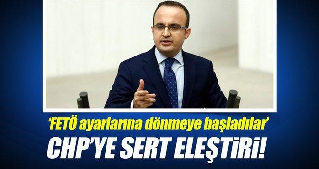 AK Parti'li Turan'dan CHP'ye sert eleştiri!