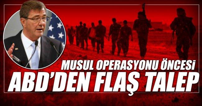 ABD Savunma Bakanı Musul için geliyor