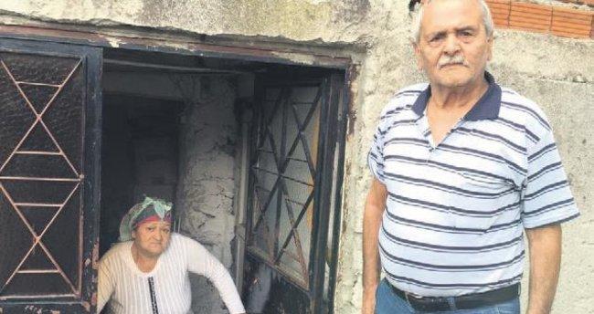 Yaşlı çifte verilen zekâtı çaldılar