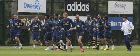 Fenerbahçe'de Ç.Rizespor hazırlıkları