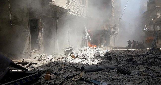 Esad rejimi İdlib'i vurdu: 8 ölü, 45 yaralı