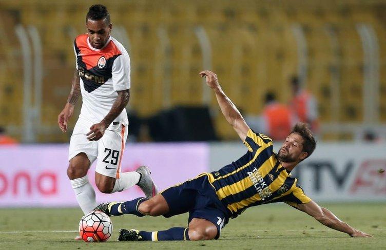 Fenerbahçe - Shakhtar Donetsk maçından kareler