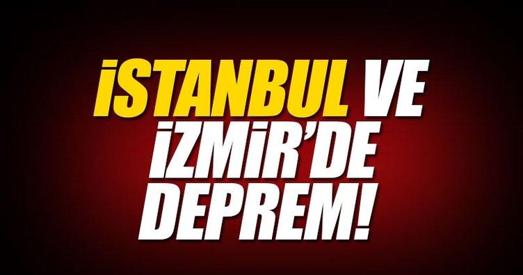 Son depremler korkuttu! - Marmara ve Ege'de yaşanan deprem İstanbul ve İzmir'i salladı