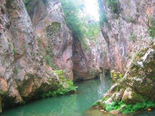 Cennet Kanyonu ilk kez görüntülendi