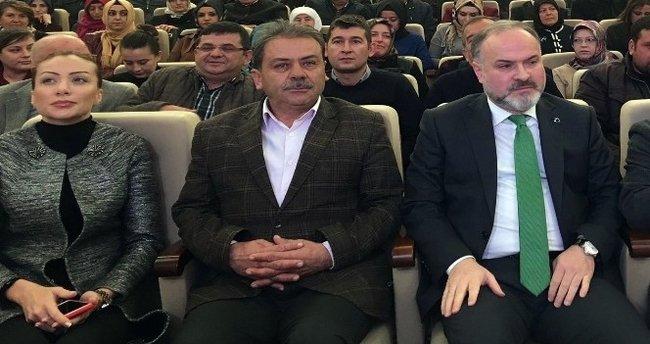 """Gedikli, """"Türk tipi başkanlık"""" sistemini anlattı"""