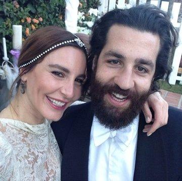 Ece Sükan Amerika'da evlendi