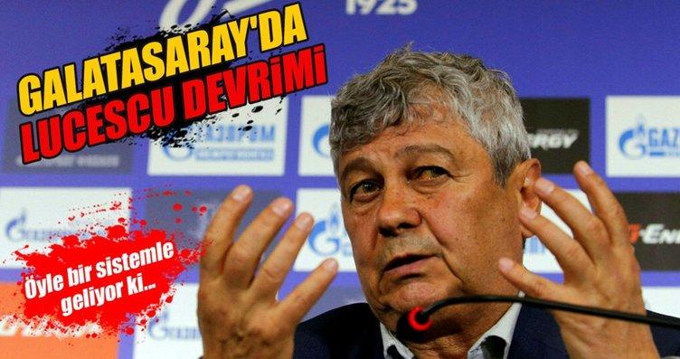 Galatasaray'dan Lucescu bombası!