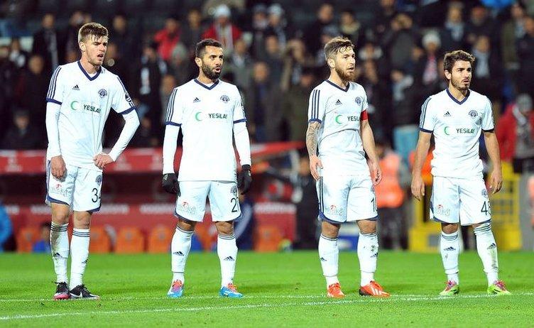 Beşiktaş - Kasımpaşa maçının fotoğrafları