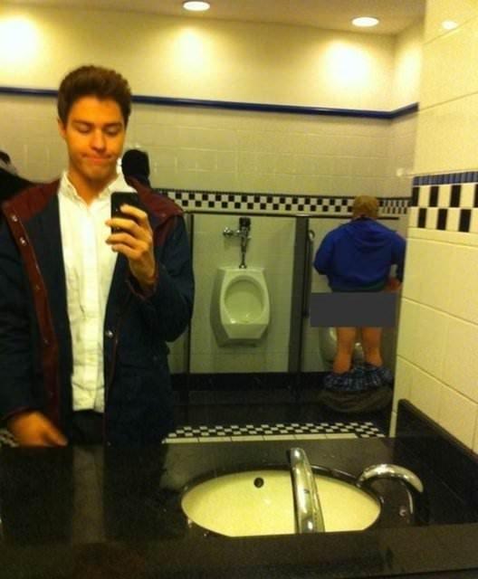 Yanlış zamanda çekilen selfi'ler!