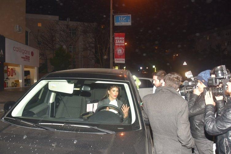 Şarkıcı hatice polise tehditler savurdu