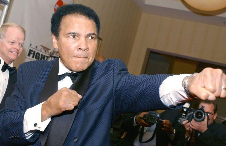 Hiphop yıldızları Muhammed Ali'yi andı