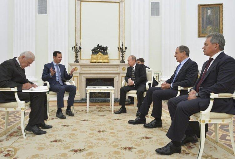 Putin Esad görüşmesi