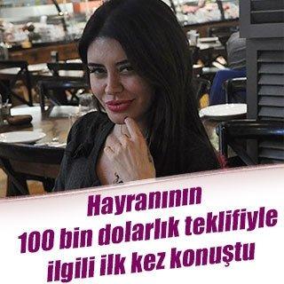 Ebru Polat'tan '100 bin dolarlık yemek teklifi' açıklaması