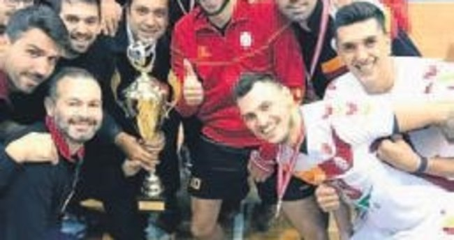 Filede çifte Balkan şampiyonluğu