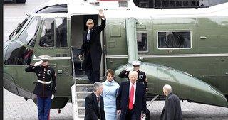 Obama, Beyaz Saray'a veda etti