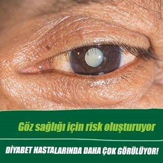 Göz sağlığı için risk oluşturuyor
