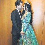 Murat-Imane çiftinden Fas'ta ikinci düğün