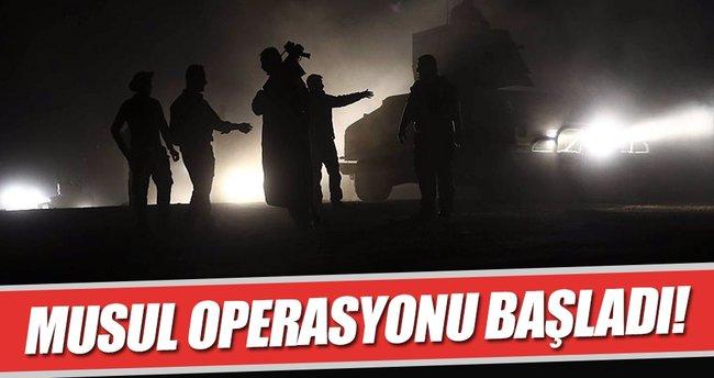Musul Operasyonu başladı!
