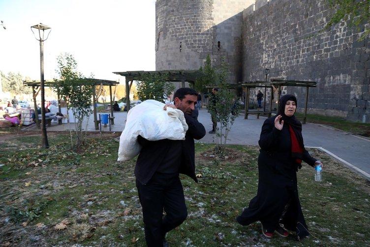 Sur PKK'dan temizlendikten sonra böyle görüntülendi!