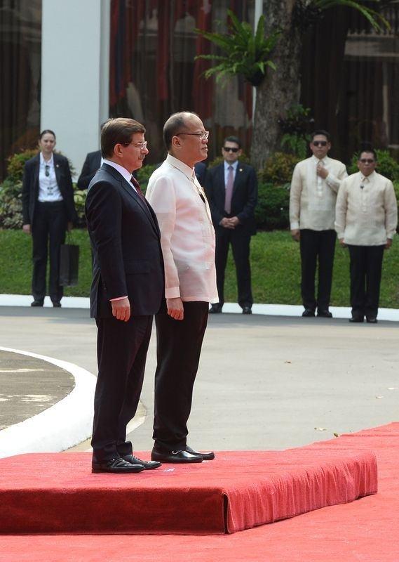 Davutoğlu'nun Filipinler ziyareti