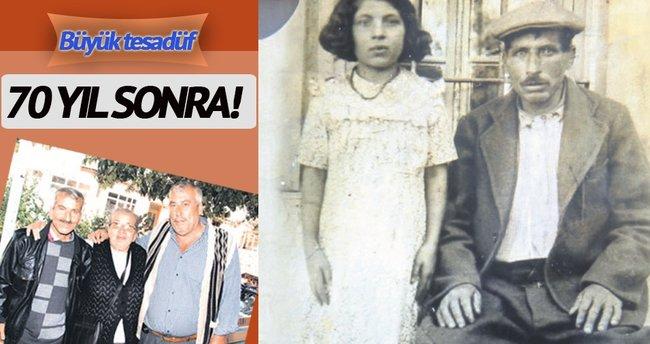 Kardeşlerini 70 yıl sonra buldu