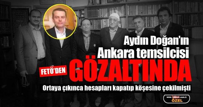 Aydın Doğan'ın temsilcisi Barbaros Muratoğlu FETÖ'den gözaltında!