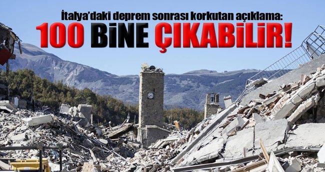 İtalya'daki deprem sonrası korkutan risk