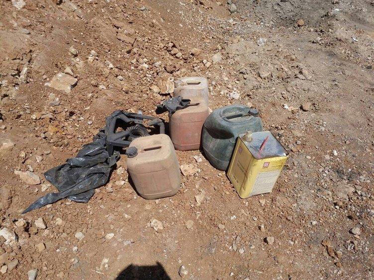 PKK'ya ait plakasız lüks araçlar bulundu
