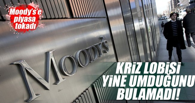 Moody's'e piyasa tokadı!