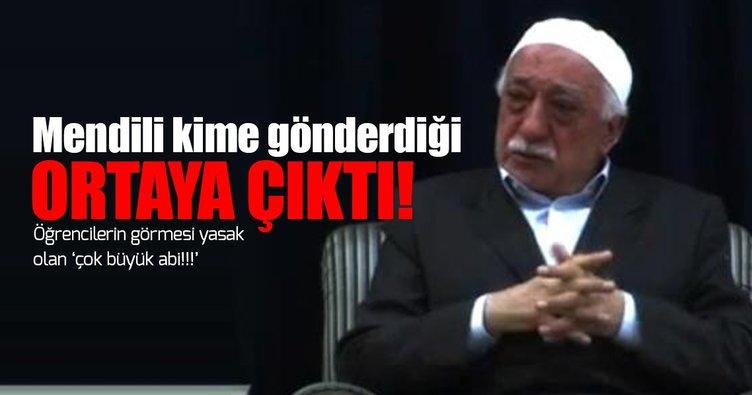 Fethullan Gülen, örgütün 'Erzurum kasası'na ABD'den mendil göndermiş