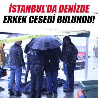 İstanbul'da denizde ceset bulundu