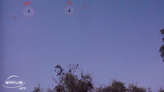 UFO'larla it dalaşı