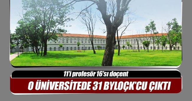 Yıldız Üniversitesi'nde 31 akademisyen ByLoçk'cu çıktı