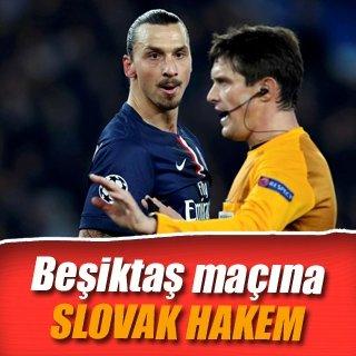 Beşiktaş - Hapoel Beer Sheva maçına Slovak hakem