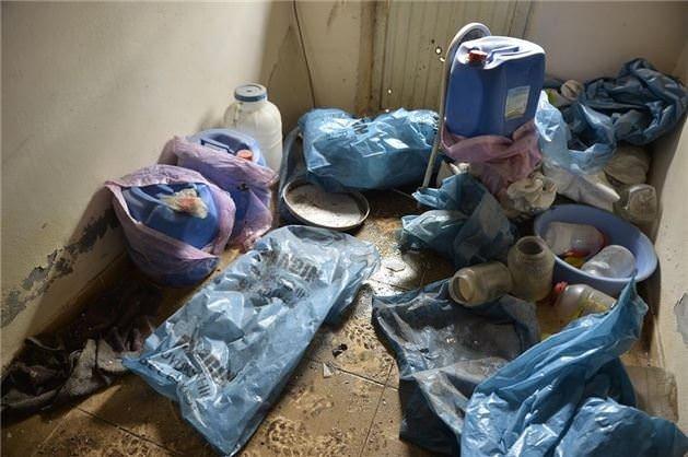 Nusaybin'de PKK'nın patlayıcı imalathanesi imha edildi