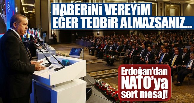Erdoğan: Terör örgütü PKK'nın AB'de rahat dolaşmasını hazmedemiyoruz