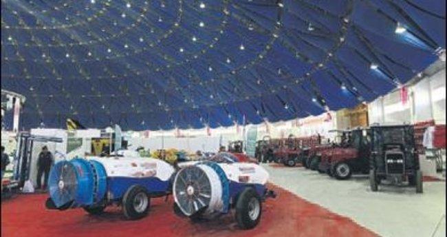 Tarım Fuarı'nda modern araçlar