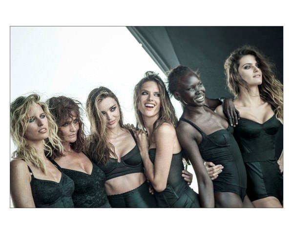 2014 Pirelli Takvimi'nin İlk Fotoğrafları