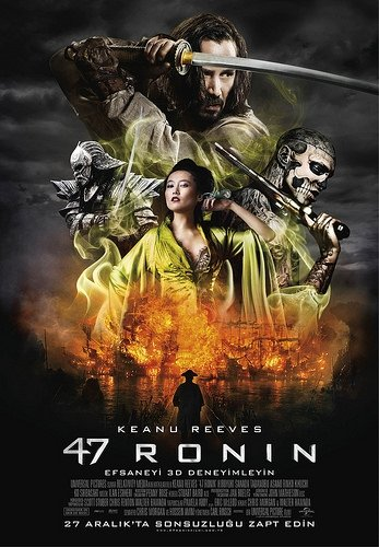47 Ronin filminden kareler