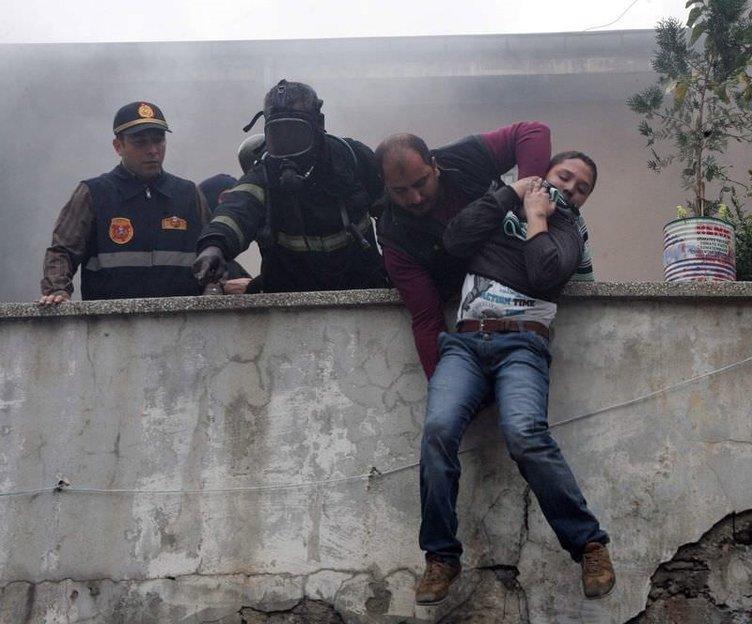 Gaziantep'te yangın faciası