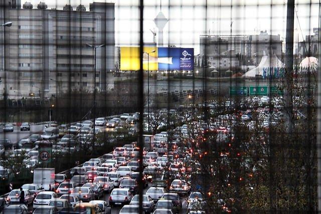 Tahran'da çıldırtan trafik