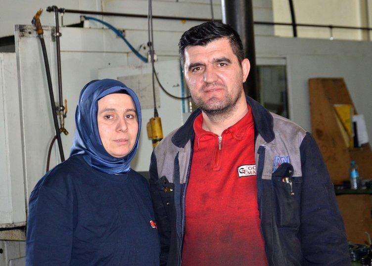 Eşi hastalanınca dükkanın başına geçti, fabrika patronu oldu