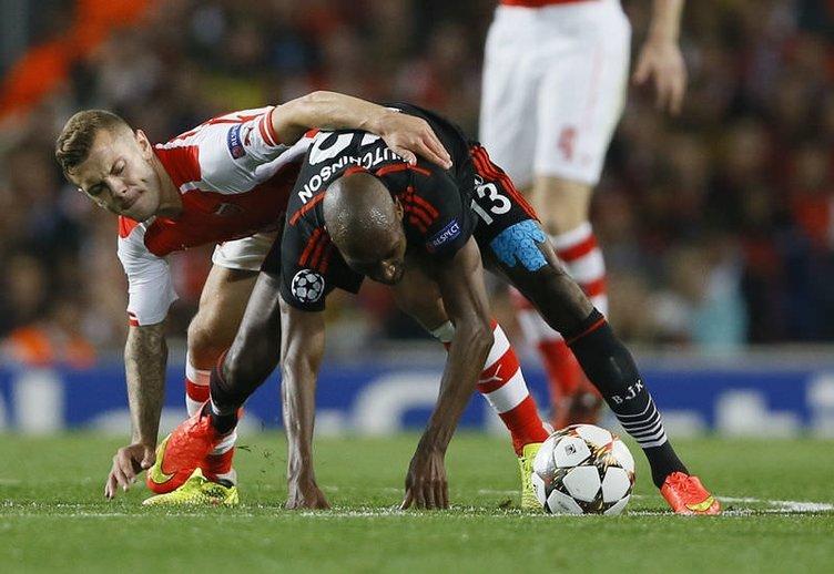 Arsenal - Beşiktaş maçının fotoğrafları