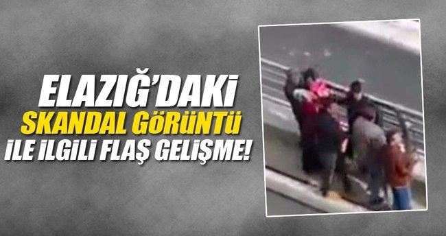 Elazığ'daki skandal görüntü ile ilgili flaş gelişme!