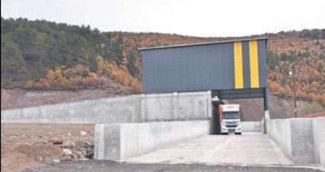 Yeni çöp aktarma istasyonu faaliyette