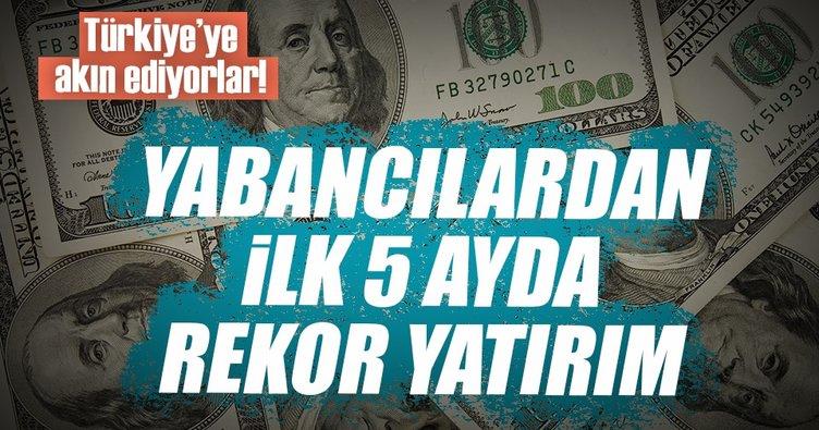 Türkiye'ye yabancı yatırım yüzde 65 arttı