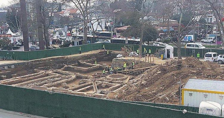 Metro inşaatından tarih çıktı