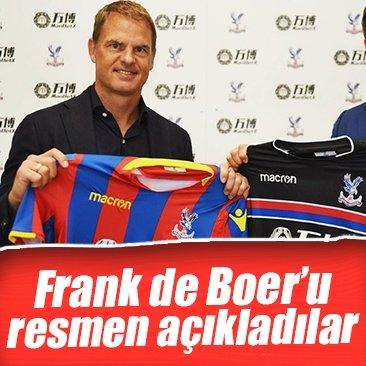 Frank de Boer, Crystal Palace ile anlaştı