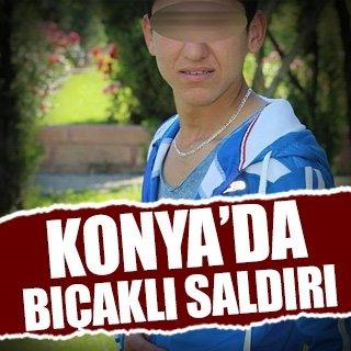 Konya'da bıçaklı kavga: 2 yaralı!